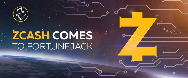 Fortunejack casinos Zcash